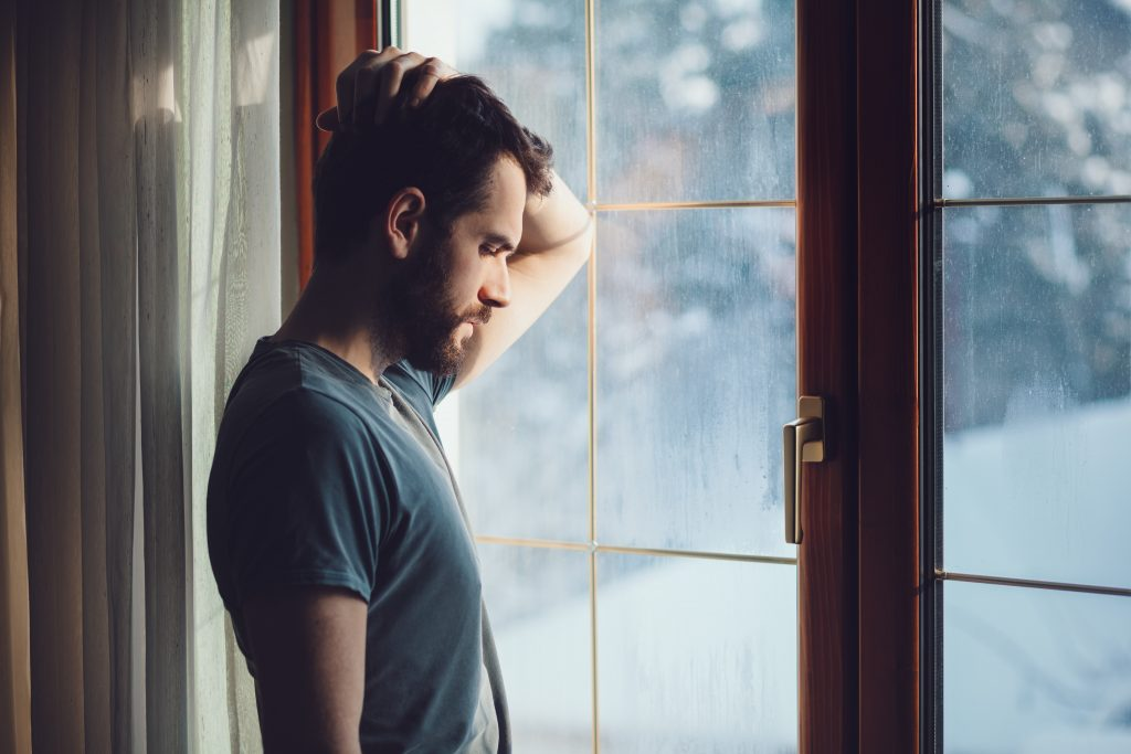 Depressed man with sexual dysfunction | Therapy for men's sexual issues